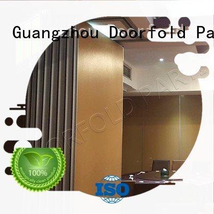 sliding glass partition walls plaza Doorfold movable partition Brand sliding folding partition