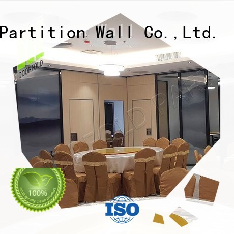 Doorfold simple-structure conference room partition walls multi-functional decoration