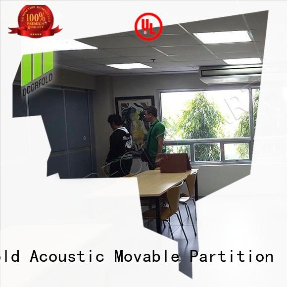 soundproof wall Doorfold movable partition soundproof folding walls