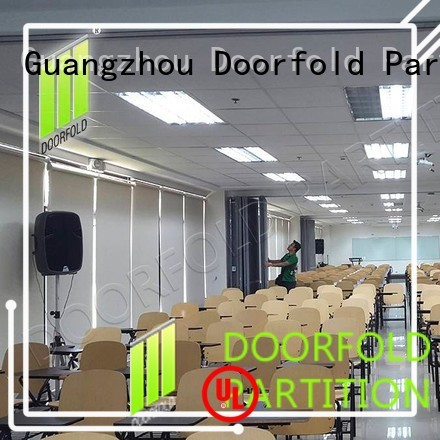 Doorfold movable partition Brand best center custom commercial partition walls