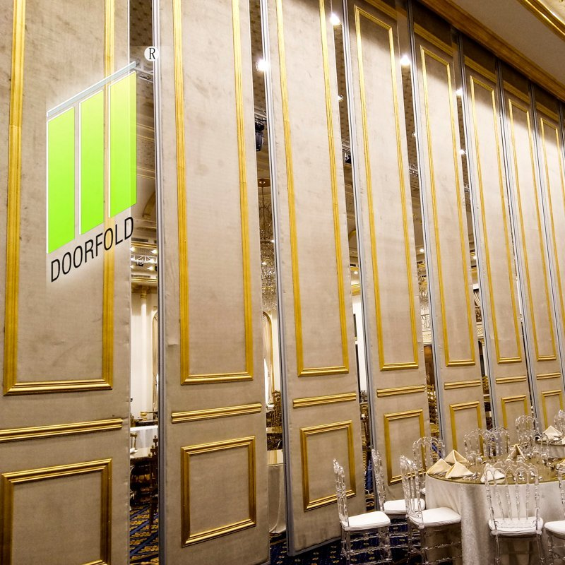 Operable Folding Acoustic Partition Wall for Saudi Mecca Hotel