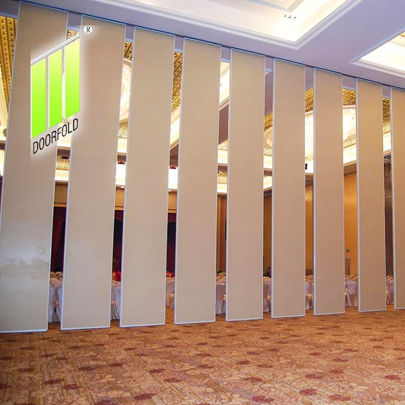 Acoustic Operable Sliding Partition Wall for International Hotel