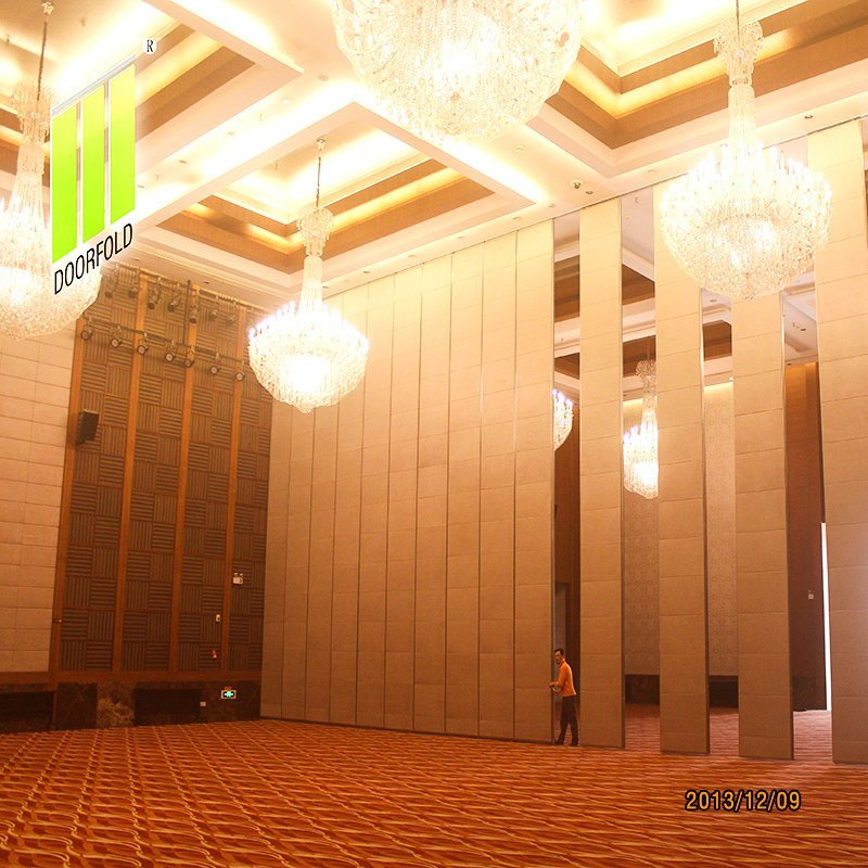 Hotel Retractable Acoustic Sliding Divider Partition Wall