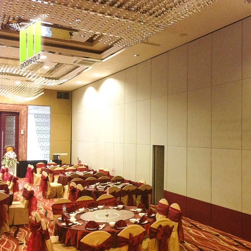 Acoustic Flexible Sliding Partition Wall for Commercial Hotel