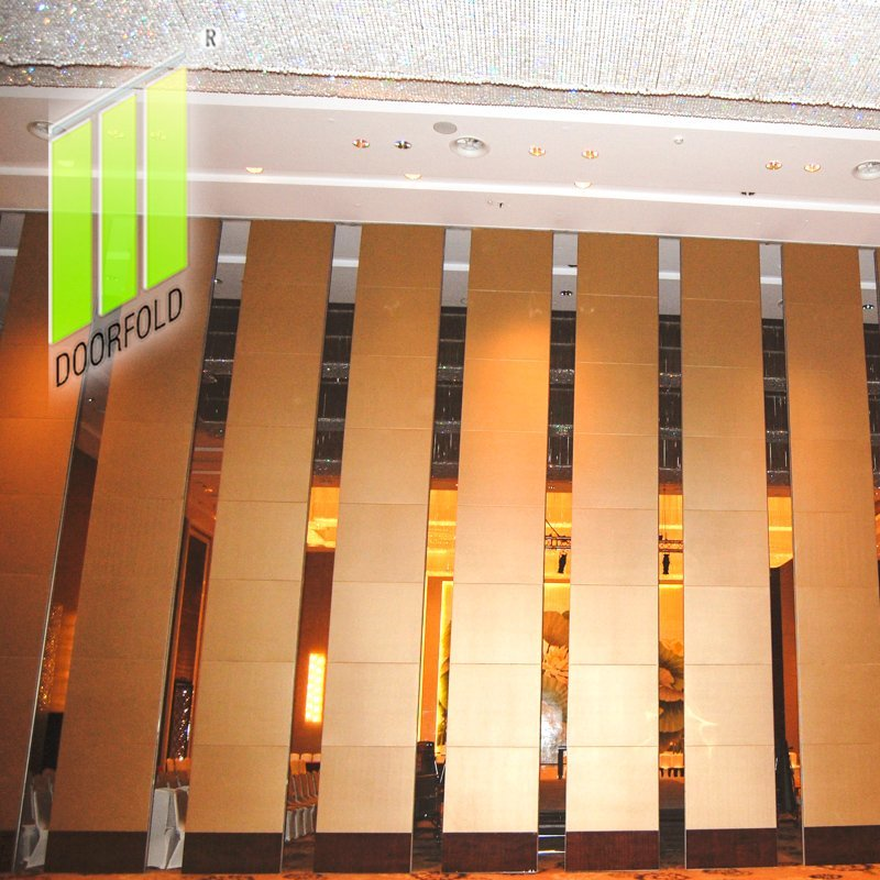 Acoustic Retractable Folding Divider Partition Wall for Hotel