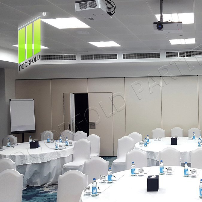 Acoustic Operable Folding Partition Divider for Commercial Room