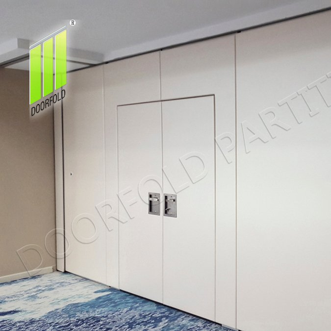Doorfold movable partition Acoustic Operable Folding Partition Divider for Commercial Room Folding Partition for Commercial Room image4