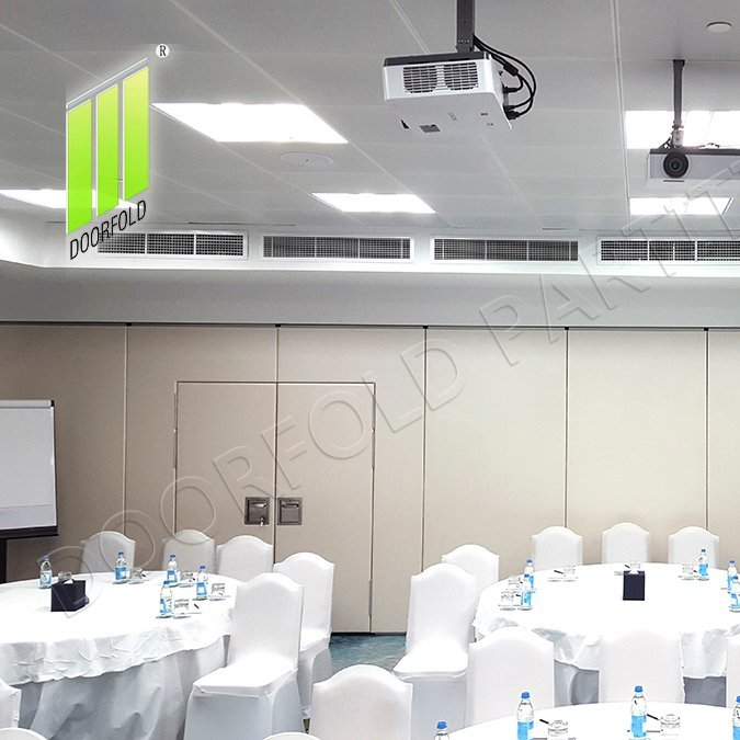 商业房间的声学可操作折叠分隔分隔符