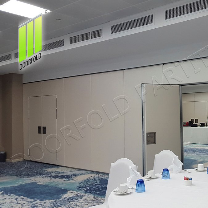 Doorfold movable partition Movable Acoustic Sliding Partition Wall for Commercial Hotel Sliding Partition Wall for Hotel image7