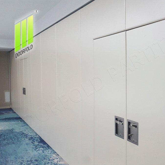 办公室可操作的声学滑动分隔墙分隔板