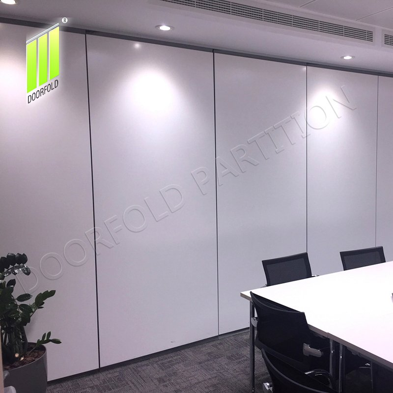 Doorfold movable partition Flexible Acoustic Sliding Partition Wall Divider for Office Sliding Partition Wall for Office image5