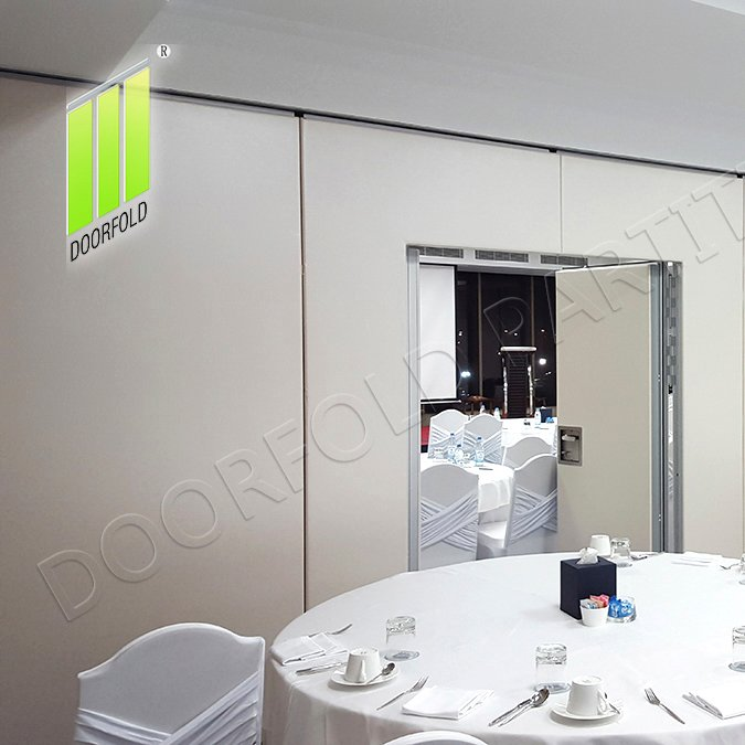 Doorfold movable partition Retractable Acoustic Sliding Partition Wall for Soundproof Room Sliding Partition for Soundproof Room image4