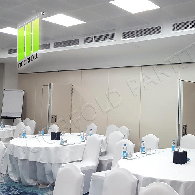 Retractable Acoustic Sliding Partition Wall for Soundproof Room