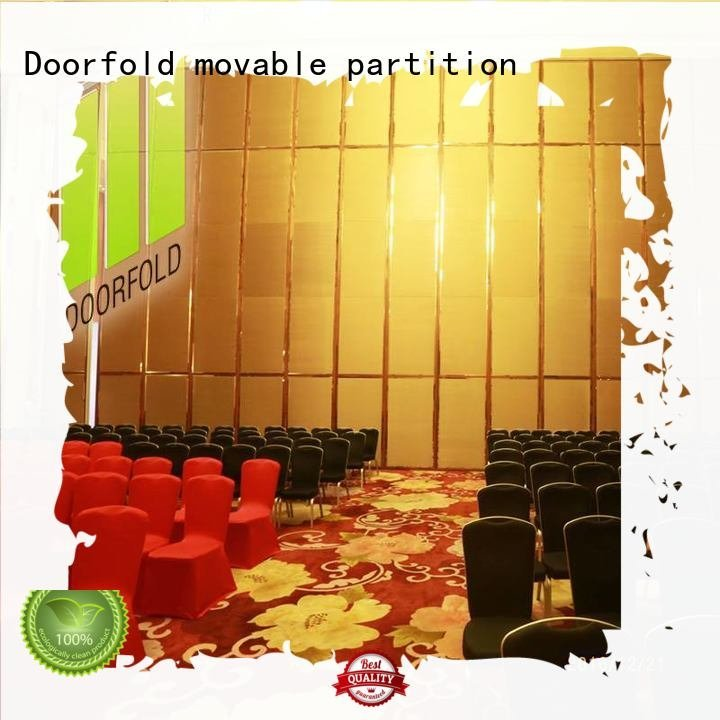 flexible acoustic movable partitions retractable Doorfold movable partition