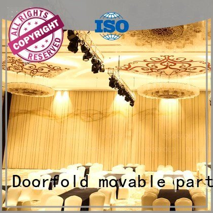Quality acoustic partition Doorfold movable partition Brand hotel acoustic movable partitions