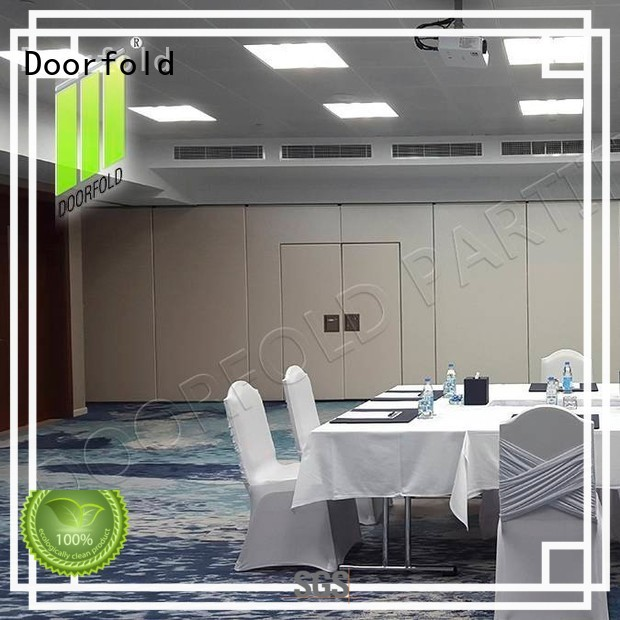 Doorfold sliding folding partition new arrival for office