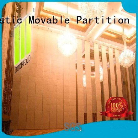 Doorfold movable partition sliding glass partition walls operable acoustic sliding plaza