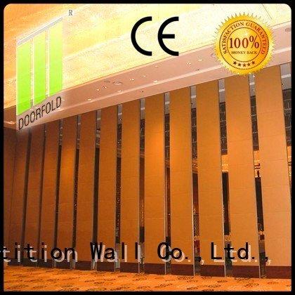 operable hotel flexible Doorfold movable partition acoustic partition
