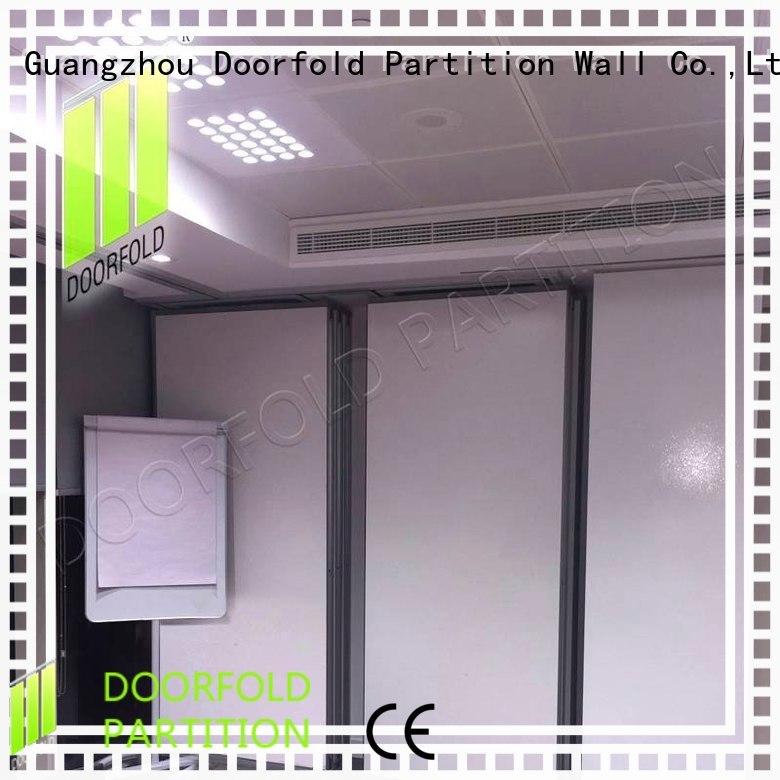 Doorfold modern design sliding partition wall partition