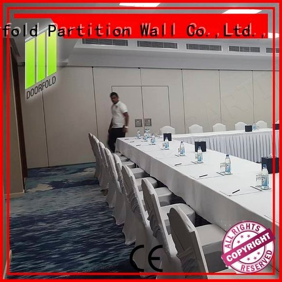 Doorfold movable partition Brand office divider acoustic sliding partition wall