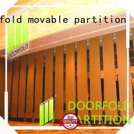 Doorfold movable partition hall acoustic movable partitions wall for restaurant