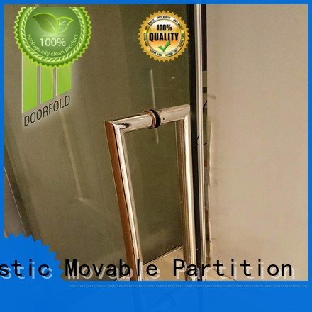 Hot glass partition walls for office movable glass partition wall panels Doorfold movable partition