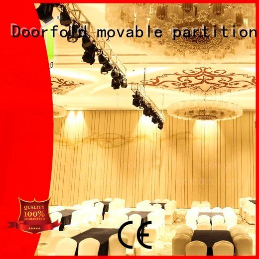 acoustic acoustic movable partitions retractable yun Doorfold movable partition