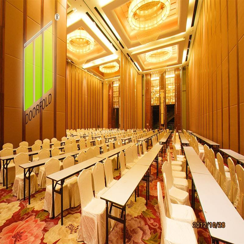 Doorfold movable partition Exhibition Center Room Folding Movable Partition Walls Folding Partition for Commercial Room image14