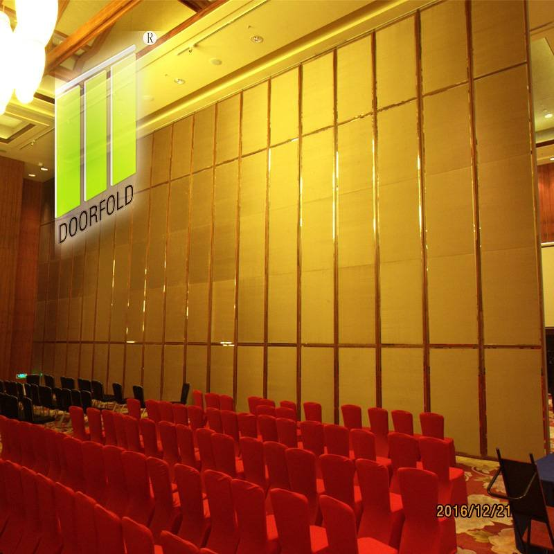 Doorfold movable partition Hotel Flexible Folding Acoustic Movable Partitions Wall Folding Partition Wall for Hotel image13