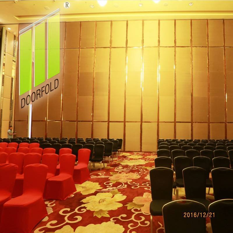 Hotel Flexible Folding Acoustic Movable Partitions Wall
