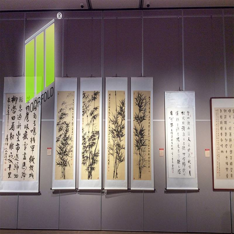 Museum Display Acoustic Folding Movable Partition Wall Panels
