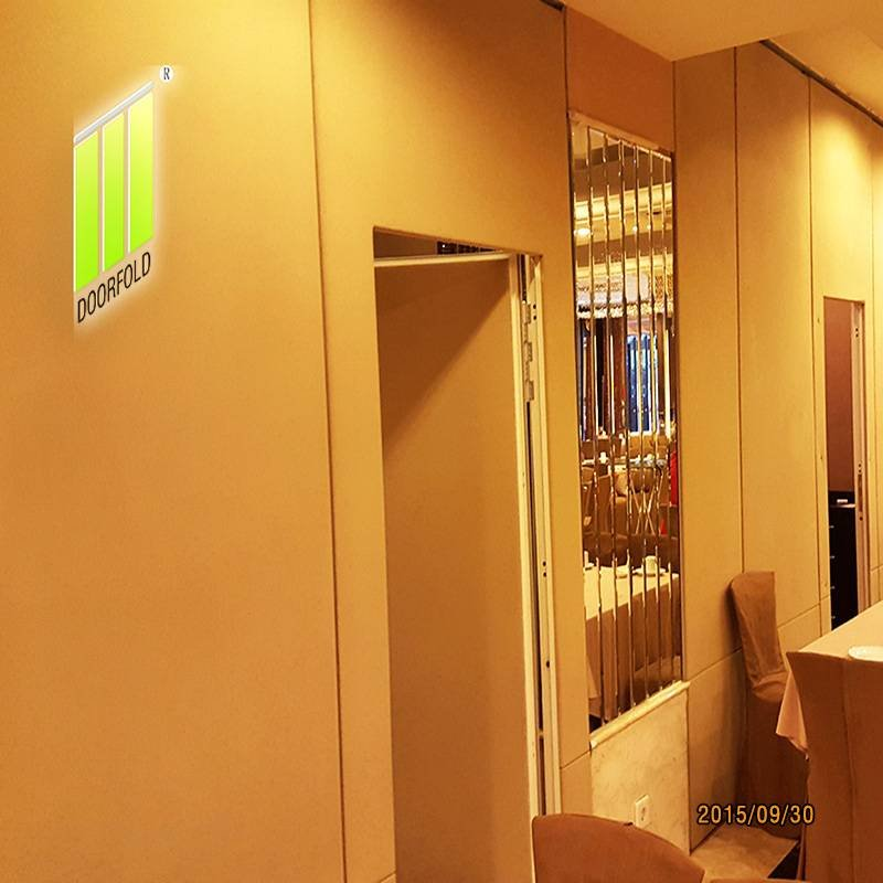 Doorfold movable partition Folding Partition Wall for Commercial Room image2