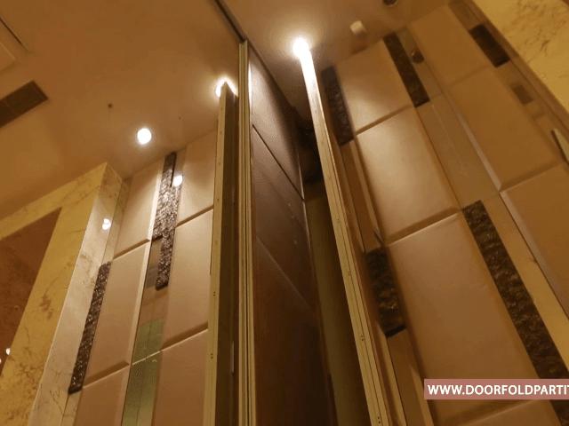 萬豪酒店活動隔音屏風推拉展示
