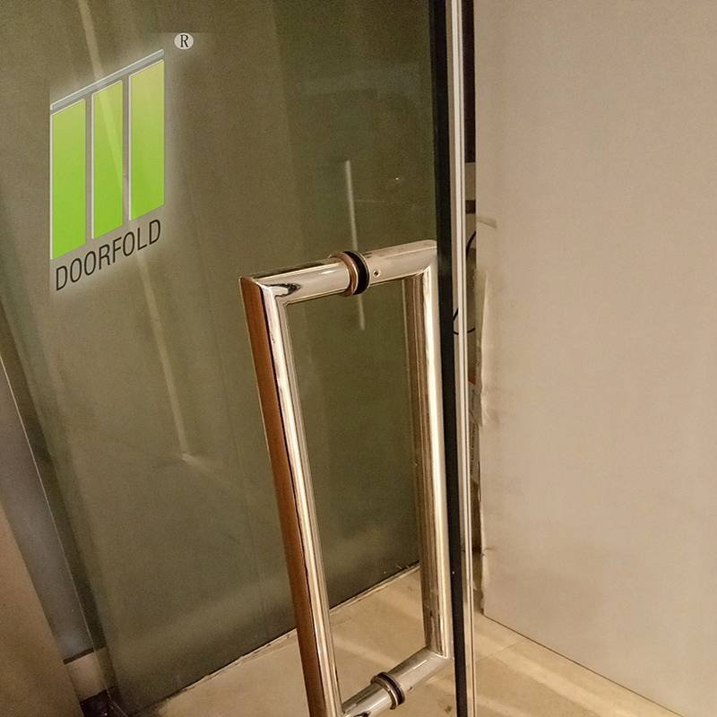 folding glass office partitions for conference