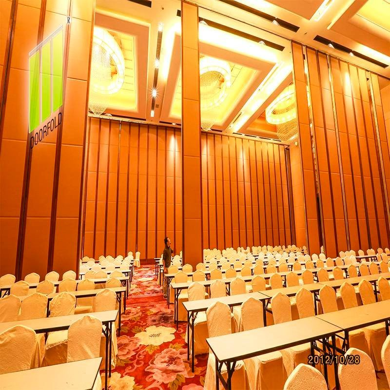Acoustic Folding Movable Partition Wall for Commercial Room