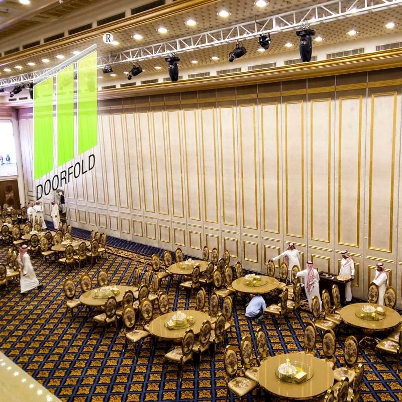 沙特麦加酒店的可操作折叠隔音墙