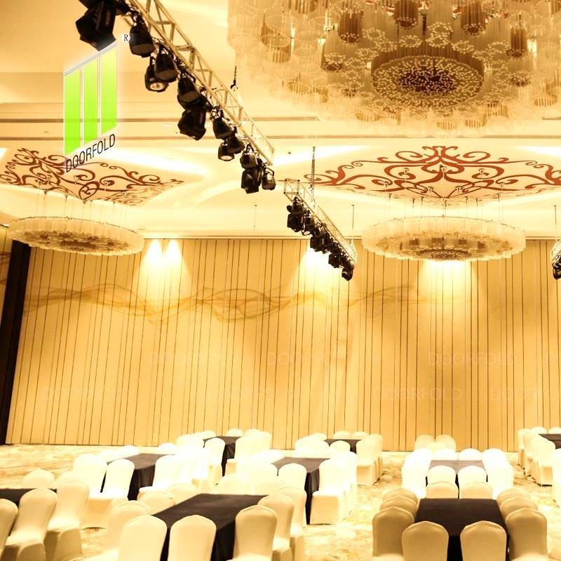 Movable Acoustic Folding Partition Wall for Haikou Marriott Hotel