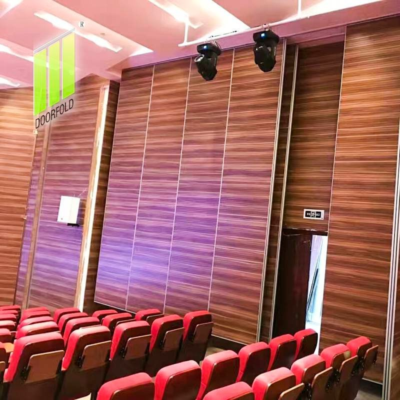 Operable Folding Partition Divider for Soundproof Movie Theater Room
