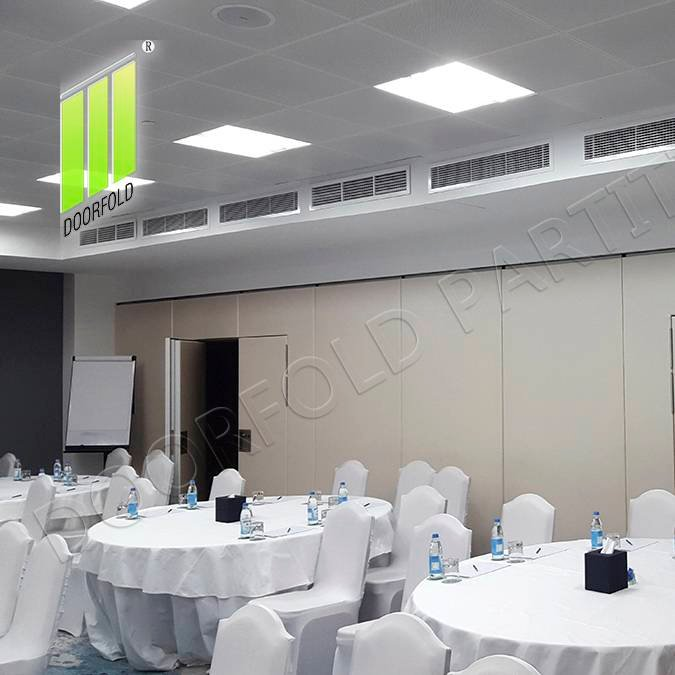 Doorfold movable partition Movable Acoustic Sliding Partition Wall for Commercial Hotel Sliding Partition Wall for Hotel image9