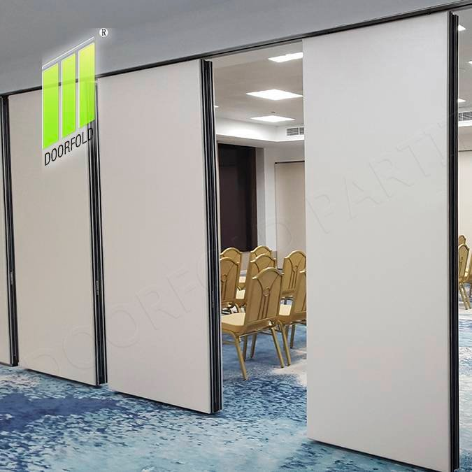 Doorfold movable partition Acoustic Movable Folding Partition Wall for Conference Room Folding Partition Wall for Meeting Room image3