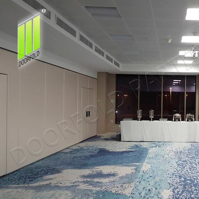 Movable Acoustic Sliding Partition Wall for Commercial Hotel