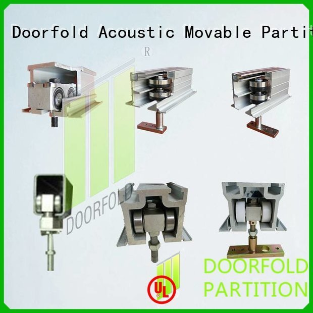 partition parts partition accessories OEM restroom partition hardware Doorfold movable partition