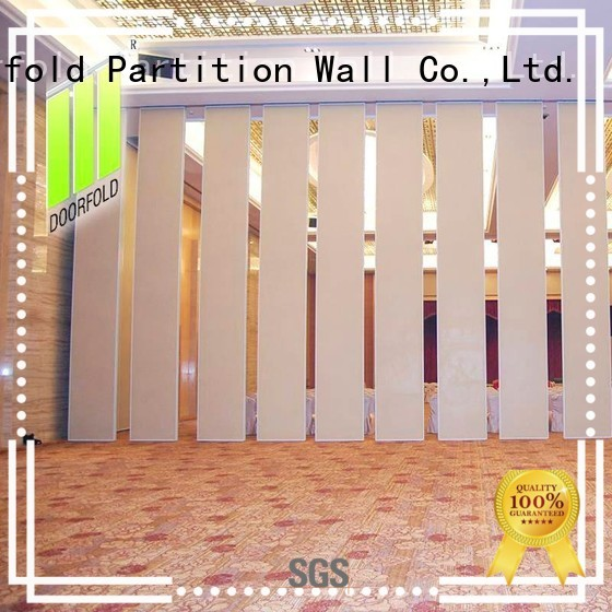Doorfold sliding room partitions cheapest factory price for meeting room