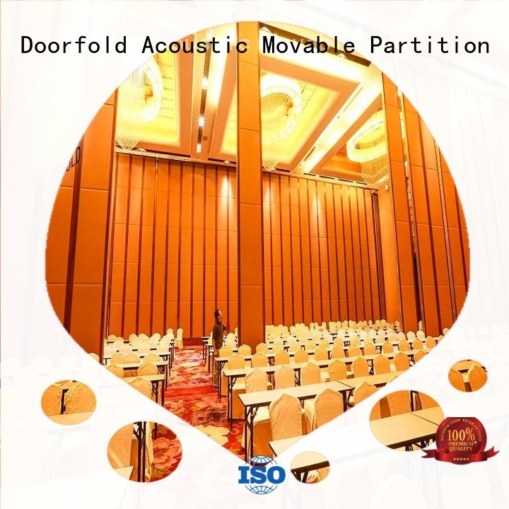 folding acoustic divider movable commercial partition walls Doorfold movable partition Brand