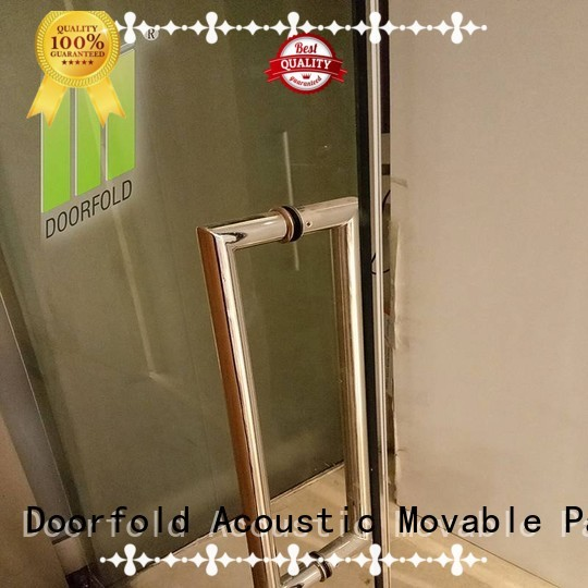 Doorfold movable partition Brand high quality bay glass supplier in omanmovable partition in oman forture supplier