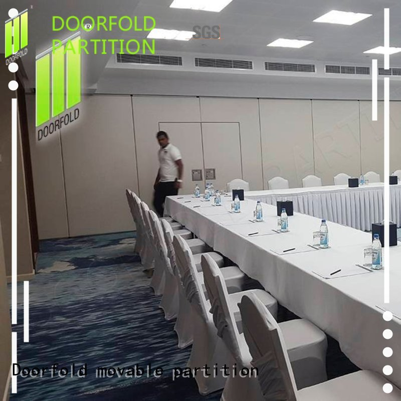 Quality Doorfold movable partition Brand operable partition wall hot selling lan