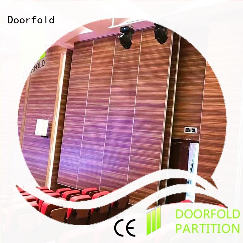 Doorfold acoustic movable walls buy now for theater