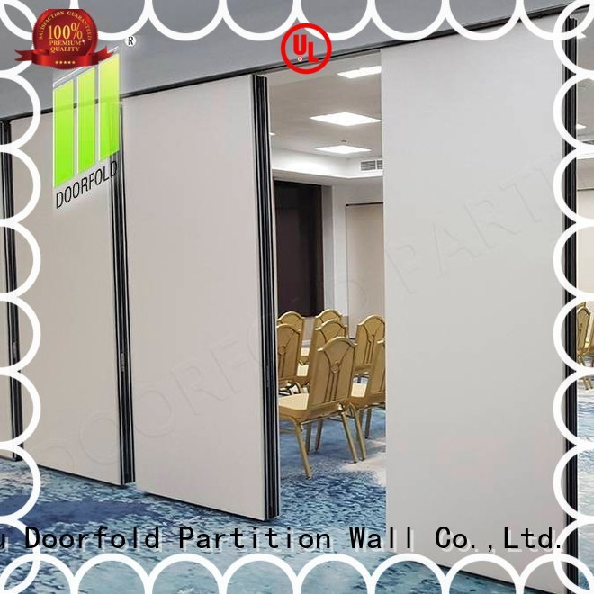 custom operable wall multi-functional for restaurant