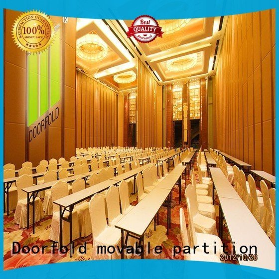 Doorfold movable partition folding partition walls commercial divider movable commercial acoustic