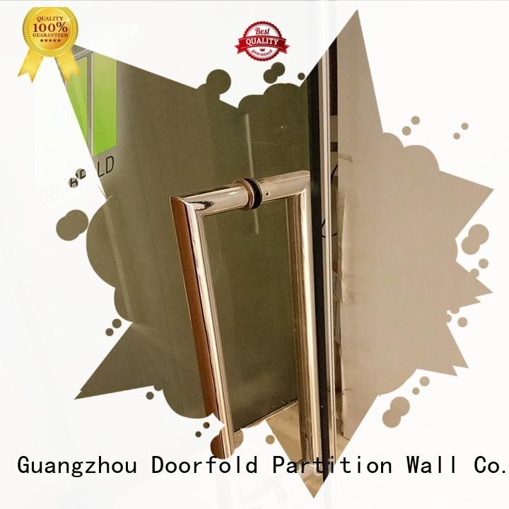 glass panels glass partition wall Doorfold movable partition